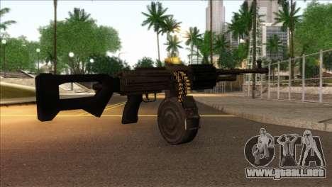 RPK from Kuma War para GTA San Andreas segunda pantalla