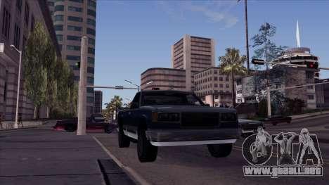 ENB Echo para GTA San Andreas segunda pantalla