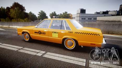 Ford Fairmont 1978 Taxi v1.1 para GTA 4 left