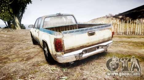 Pick-up de The Last of Us para GTA 4 Vista posterior izquierda