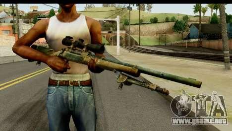 M24 from Sniper Ghost Warrior 2 para GTA San Andreas tercera pantalla