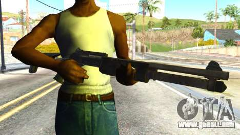 Shotgun from Global Ops: Commando Libya para GTA San Andreas tercera pantalla