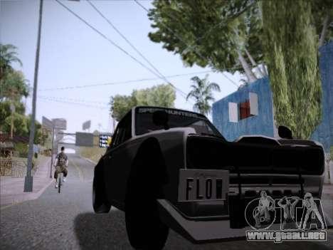 Nissan Skyline 2000 GT-R Drift Edition para GTA San Andreas vista posterior izquierda