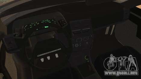 Lada 2112 para GTA San Andreas vista posterior izquierda