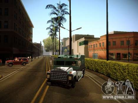 ENBSeries by Fase v0.2 NEW para GTA San Andreas tercera pantalla