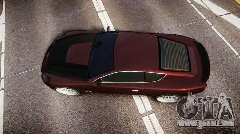 Dewbauchee Super GT Sport para GTA 4 visión correcta
