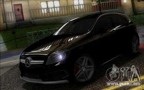 Mercedes-Benz A45 AMG para GTA San Andreas left
