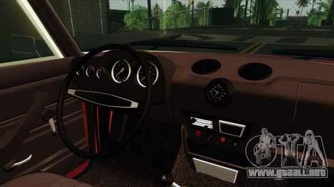 VAZ Lada 2106 v2 para GTA San Andreas vista hacia atrás