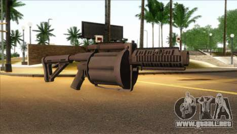 Rocket Launcher from GTA 5 para GTA San Andreas