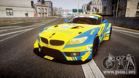 BMW Z4 GT3 2012 Northwest para GTA 4