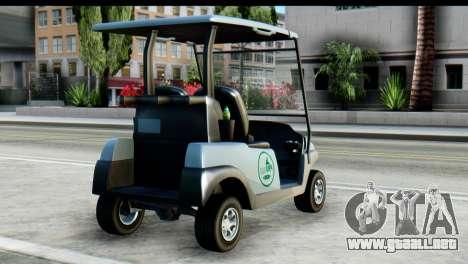 GTA 5 Caddy v2 para GTA San Andreas left