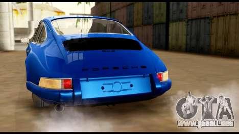 Porsche 911 Carrera 2.7RS Coupe 1973 Tunable para las ruedas de GTA San Andreas