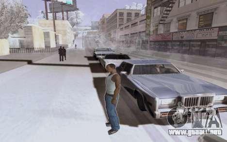 Nuevo ENB Series para GTA San Andreas sucesivamente de pantalla