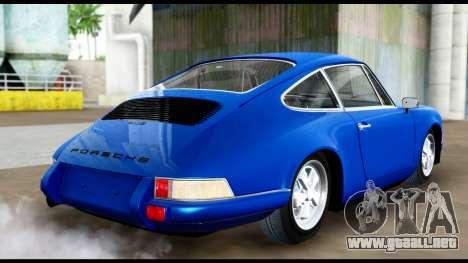 Porsche 911 Carrera 2.7RS Coupe 1973 Tunable para GTA San Andreas left