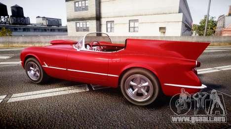 Chevrolet Corvette C1 1953 race para GTA 4 left
