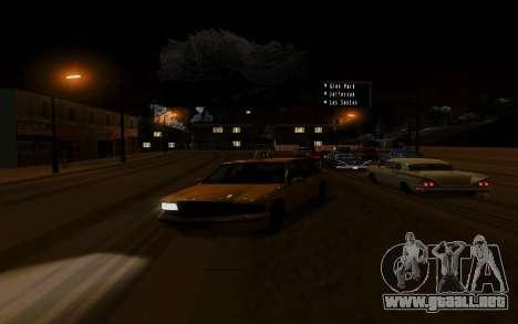 Nuevo ENB Series para GTA San Andreas segunda pantalla