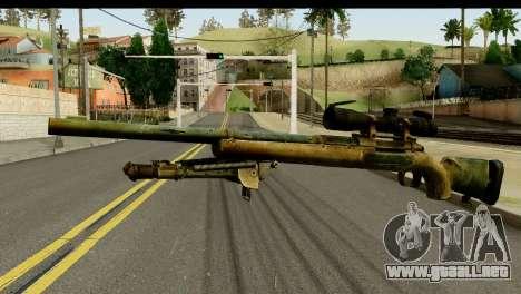 M24 from Sniper Ghost Warrior 2 para GTA San Andreas