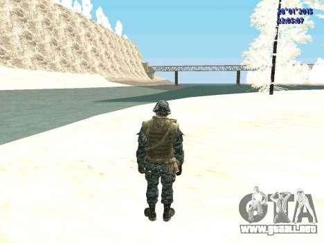 Las fuerzas especiales de la Federación de rusia para GTA San Andreas tercera pantalla