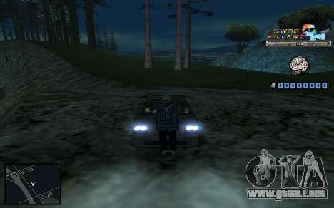 C-HUD SWAG Killerz para GTA San Andreas octavo de pantalla