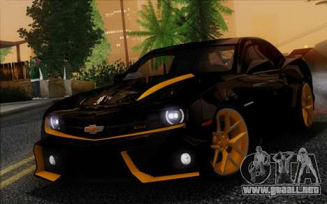 Chevrolet Camaro VR (IVF) para GTA San Andreas