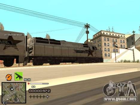 Un simple C-HUD para GTA San Andreas sexta pantalla