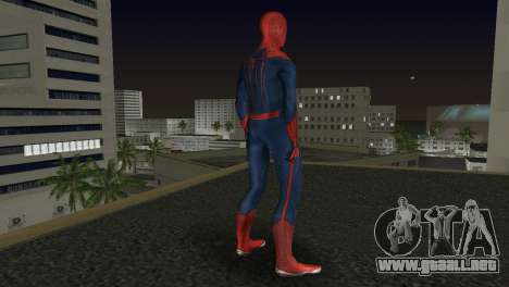 The Amazing Spider-Man para GTA Vice City sucesivamente de pantalla