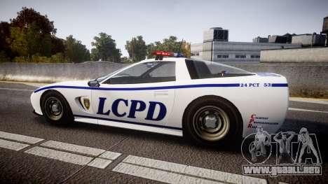 Invetero Coquette Police Interceptor [ELS] para GTA 4 left