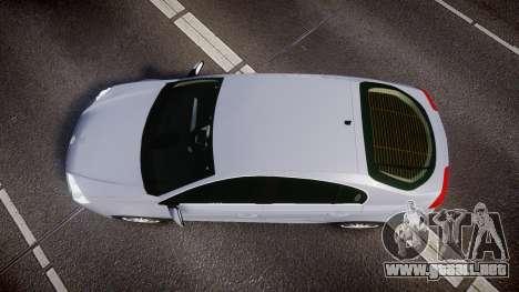 Renault Laguna III 2007 para GTA 4 visión correcta