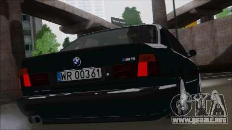 BMW M5 E34 para GTA San Andreas left