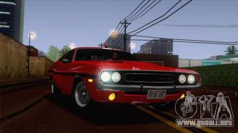 ENBSeries by Blackmore 0.075c para GTA San Andreas quinta pantalla