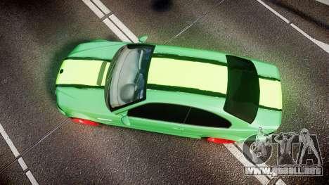 BMW M3 E46 Green Editon para GTA 4 visión correcta