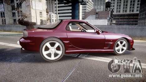 Mazda RX-7 Custom para GTA 4 left