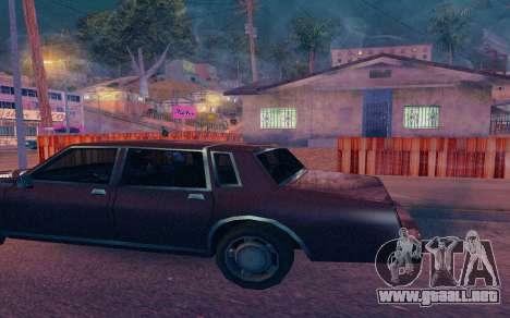 ENB by Dvi v 1.0 para GTA San Andreas quinta pantalla