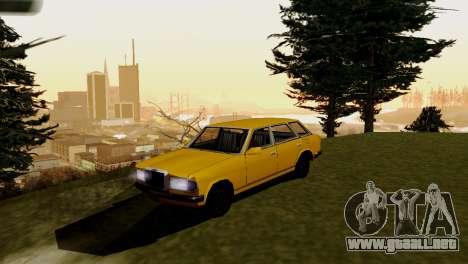 Nuevo transporte y compra para GTA San Andreas segunda pantalla