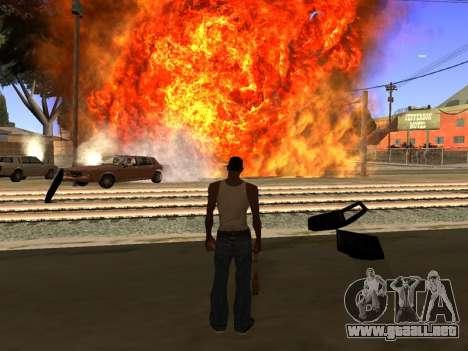 New Realistic Effects 4.0 Full Final Version para GTA San Andreas tercera pantalla