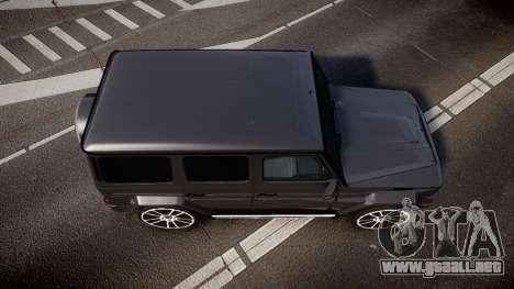 Mercedes-Benz G65 Brabus rims2 para GTA 4 visión correcta