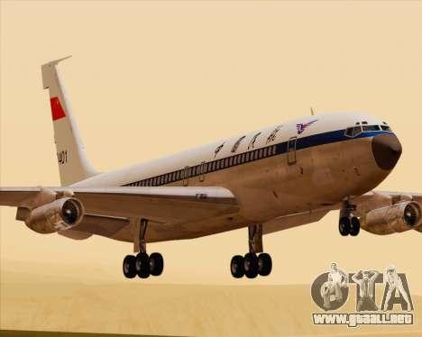 Boeing 707-300 CAAC para GTA San Andreas