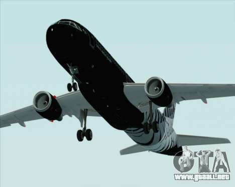 Airbus A320-200 Air New Zealand para el motor de GTA San Andreas