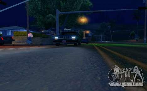 ENB by Dvi v 1.0 para GTA San Andreas tercera pantalla