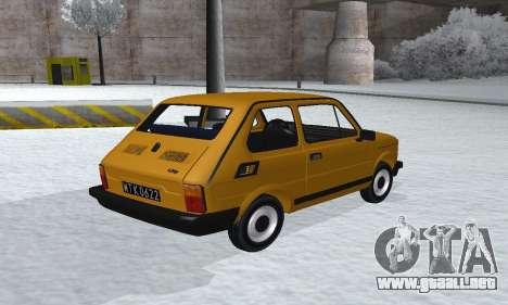 Fiat 126p FL para GTA San Andreas left