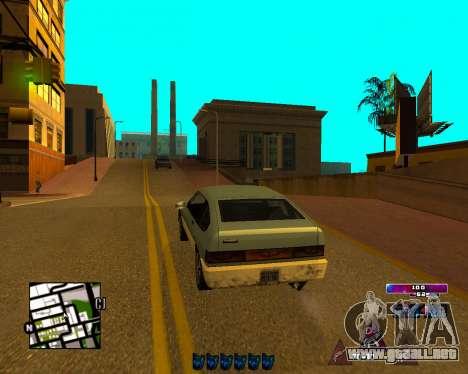 Space C-HUD v2.0 para GTA San Andreas