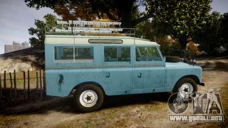 Land Rover Series II 1960 v2.0 para GTA 4 left