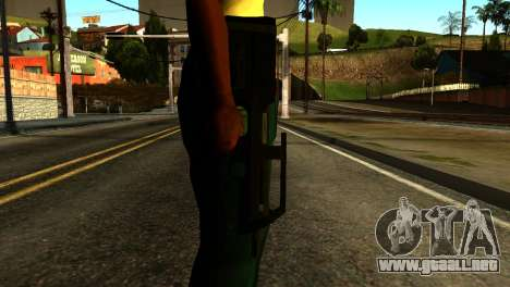 Assault SMG from GTA 5 para GTA San Andreas tercera pantalla