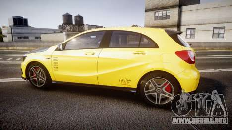 Mersedes-Benz A45 AMG PJs2 para GTA 4 left