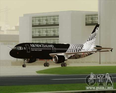 Airbus A320-200 Air New Zealand para GTA San Andreas