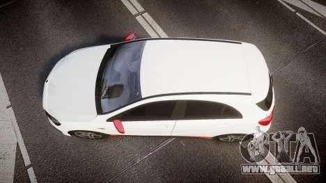 Mersedes-Benz A45 AMG PJs3 para GTA 4 visión correcta