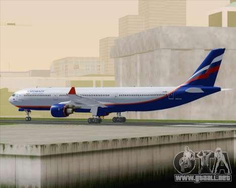 Airbus A330-300 Aeroflot - Russian Airlines para la visión correcta GTA San Andreas