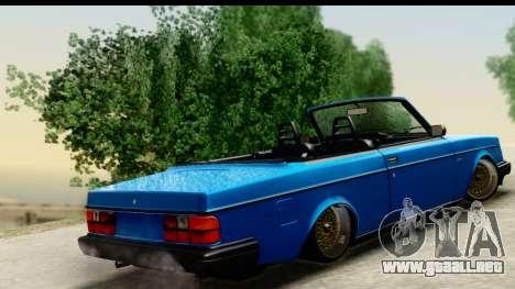 Volvo 242 Cabrio para GTA San Andreas left