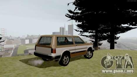 Nuevo transporte y compra para GTA San Andreas novena de pantalla