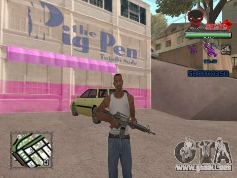 C-HUD by VinC para GTA San Andreas segunda pantalla